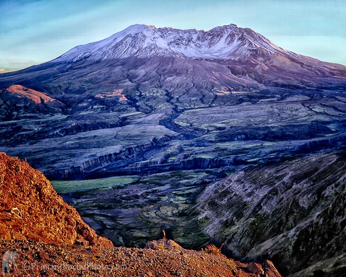 Mt Saint Helens Early Fall