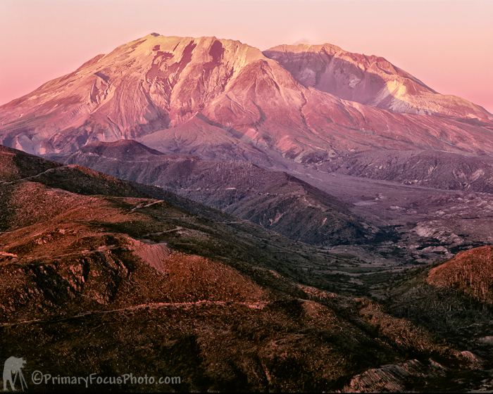 Mt. Saint Helens Late Summer