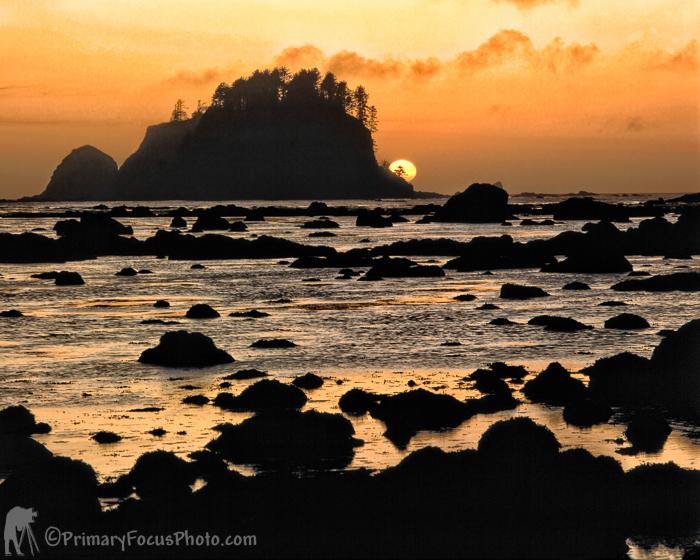 Sun Set on Cape Alava
