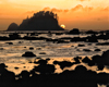 Sun Set on Cape Alava